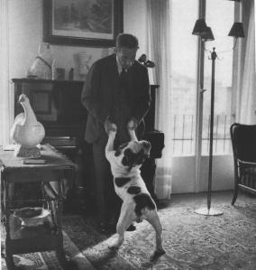 Buzzati e il suo cane